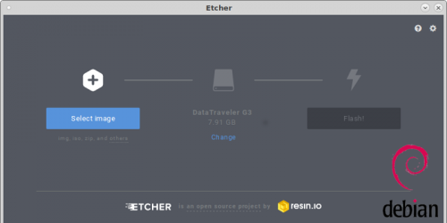 "Установка Etcher в Debian 9 ""Stretch"" из репозитория"